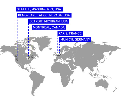 Global Locations Map Image